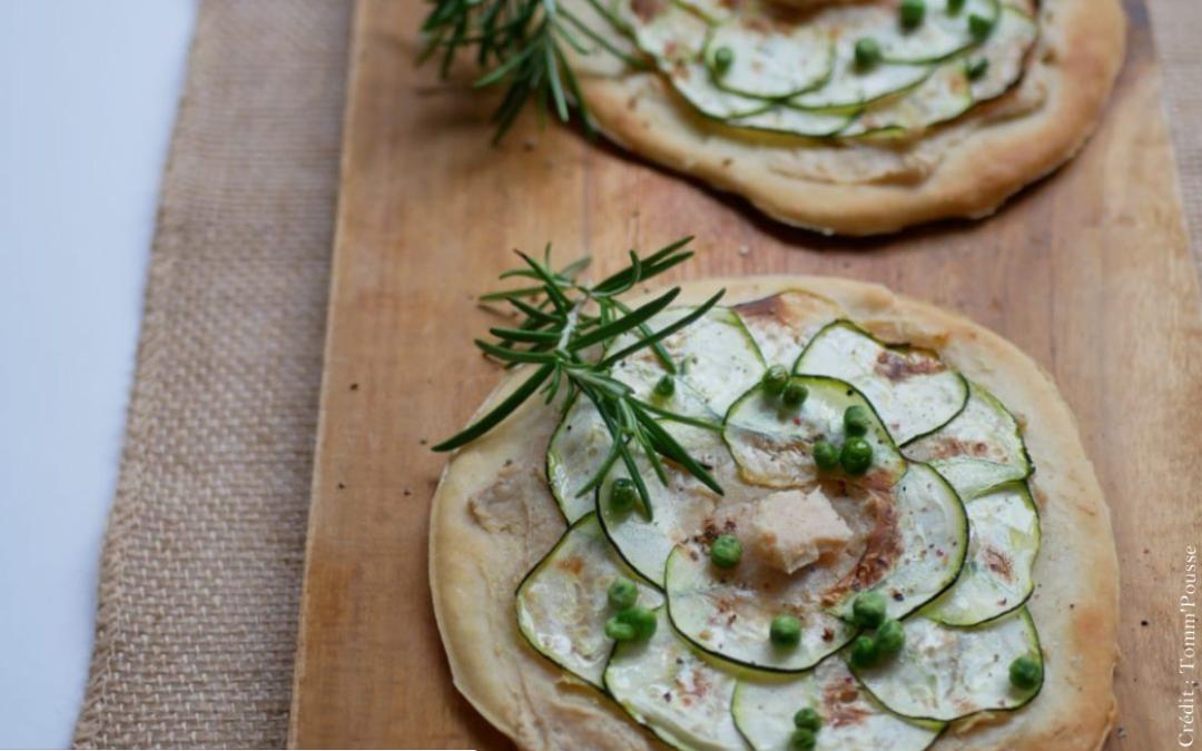 Tartelettes au CamemVert 🧀 et à la courgette
