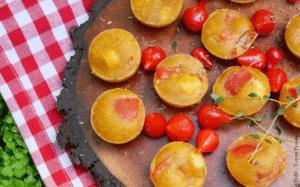 Bouchées aux tomates confites