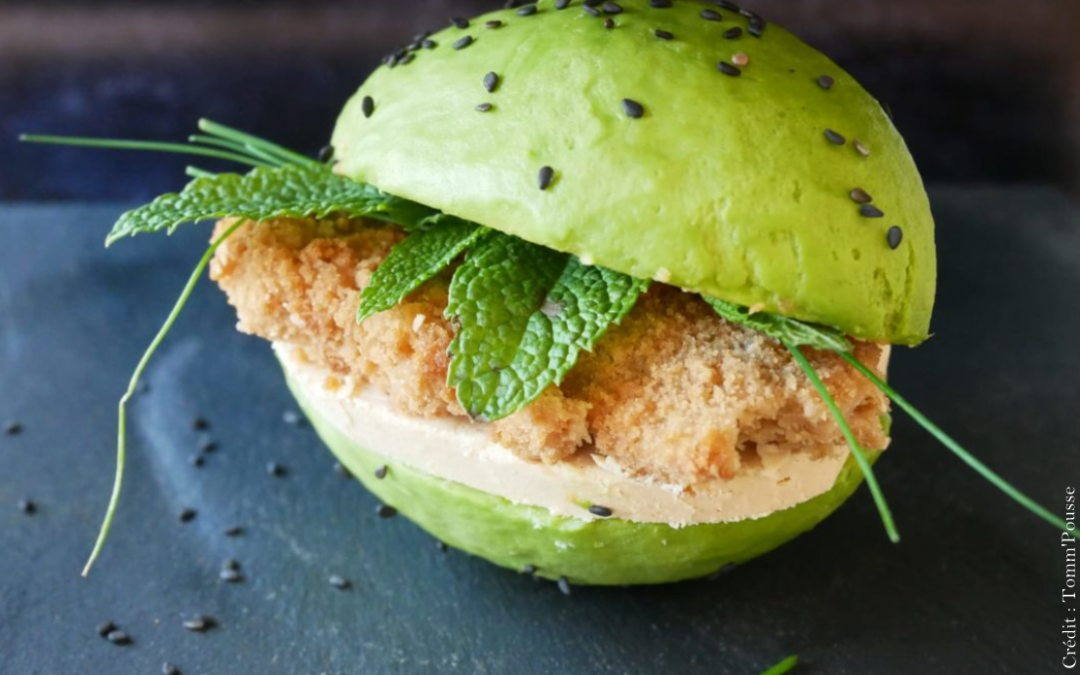Avocado burger 🥑