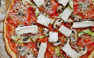 Pizza au CamemVert Tomm'Pousse
