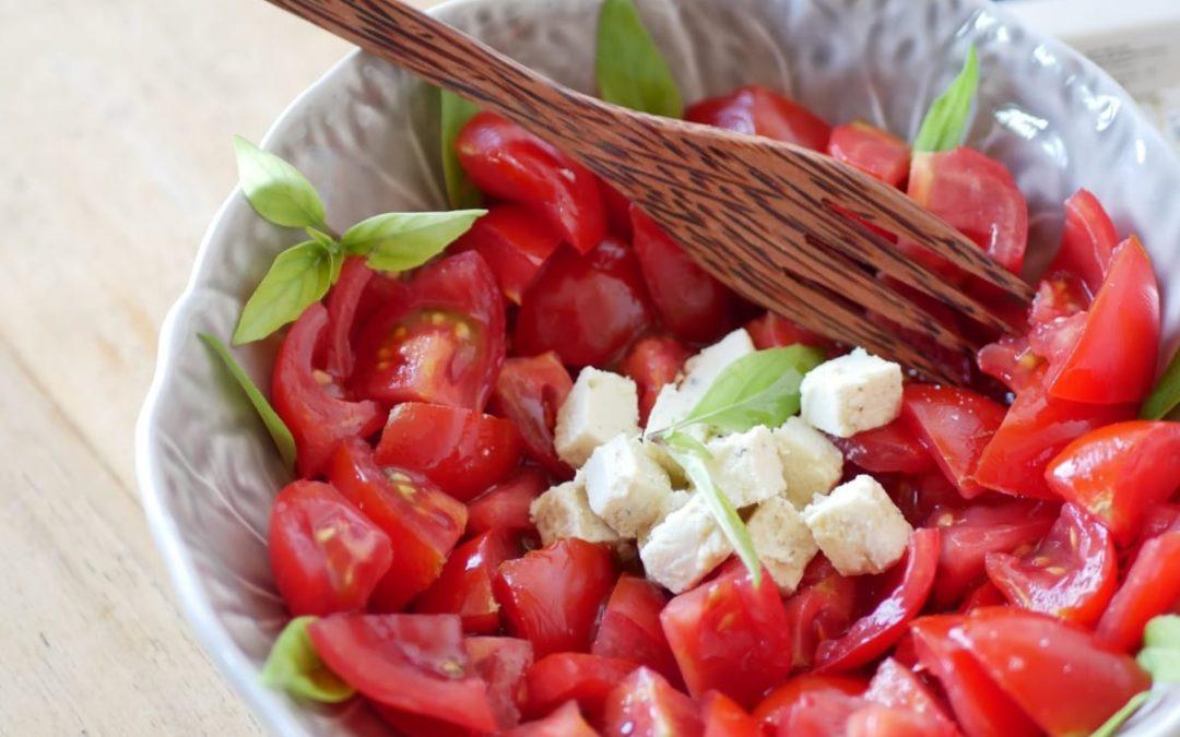 Salade de tomates 🍅