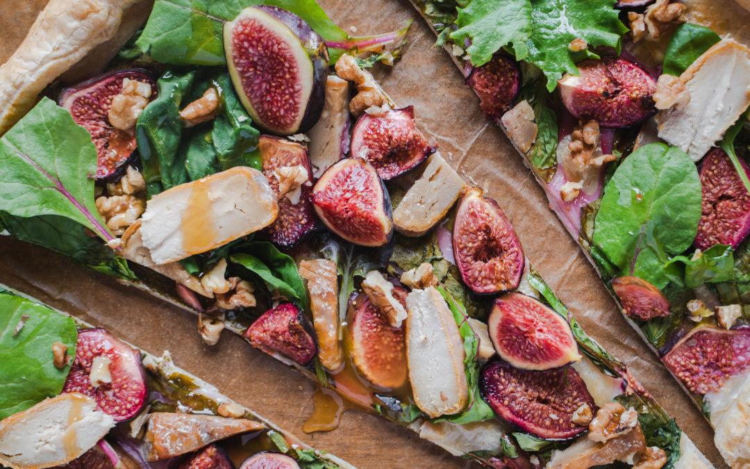 Tarte au Rouillé et figues fraîches