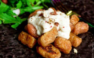 Gnocchis à la crème de chou-fleur