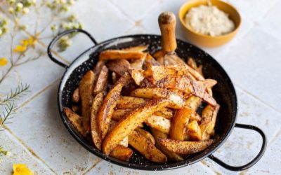 Patatas bravas sauce au CamemVert