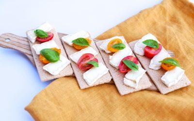 Tartines au CamemVert et tomates cerises
